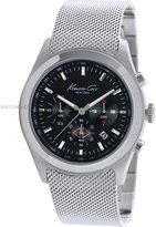 Kenneth Cole New York Kenneth Cole Men's KC9202 Silver Stainless-Steel Quartz Watch with Dial