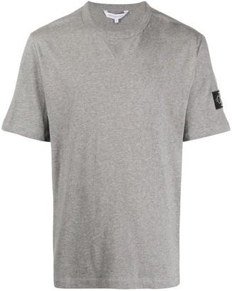 Calvin Klein Jeans logo-patch crew neck T-shirt
