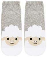Forever 21 FOREVER 21+ Heathered Lamb Print Socks
