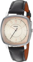 Fossil Women's ES3998 Visionist Leather Watch