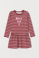 H&M Cotton Sibling Dress - Red