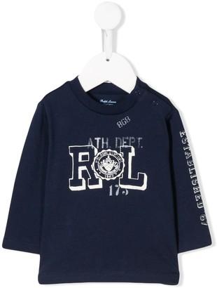 Ralph Lauren Kids Logo Printed Sweatshirt