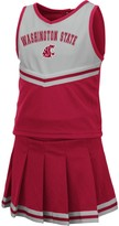 Colosseum Girls Toddler Crimson Washington State Cougars Pinky Cheer Dress