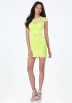 Bebe Maggie Scallop Lace Dress