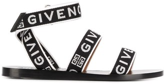 Givenchy logo strappy sandals