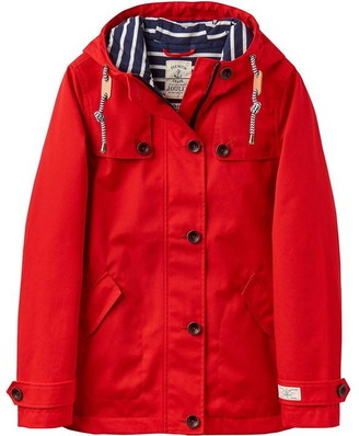 Joules Waterproof Hooded Jacket With Toggle