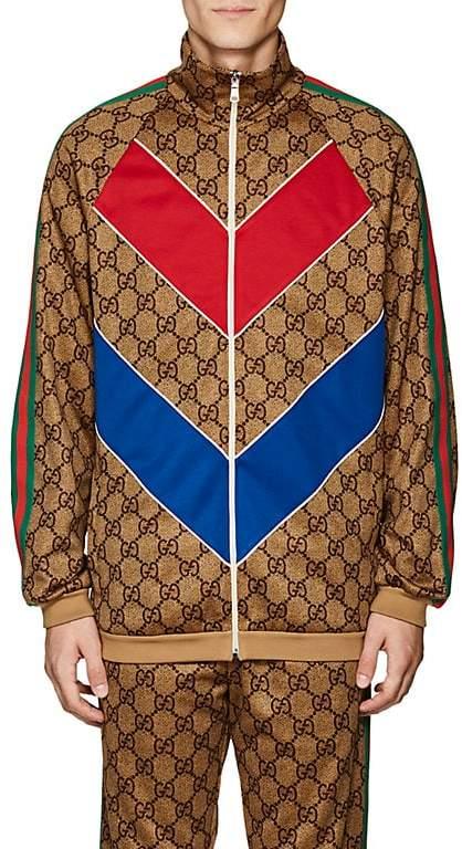 Gucci Men's GG Supreme Oversized Track Jacket