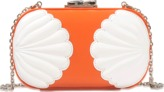 Corto Moltedo Susan clutch with shell detailing