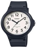 Casio Men's Super Easy Reader Watch - White/Black (MW240-7BV)