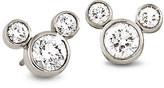 Disney Mickey Mouse Diamond Earrings - Medium