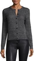 Manoush Women's Gilet Cotton Ribbed Sweater