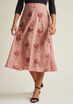 PepaLoves Spread Your Wings A-Line Midi Skirt in M - A-line Skirt by from ModCloth