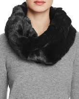 Badgley Mischka Faux Fur Neck Warmer