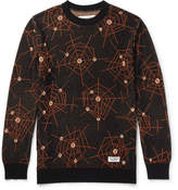 Wacko Maria Atomic Spider Jacquard-Knit Cotton Sweater