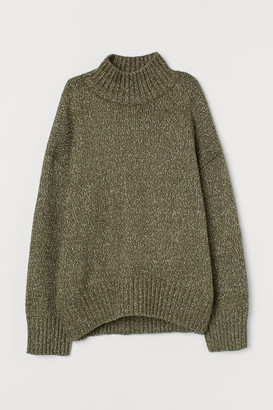 H&M Oversized Sweater - Green