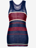 Etoile Isabel Marant striped knitted vest top - women - Polyester/Viscose - 36