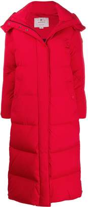 Woolrich long puffer coat