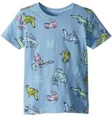 Life is Good Raining Cats and Dogs Crusher Tee Girl's Clothing