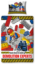 Lego City Demolition Duvet Cover Set - Single