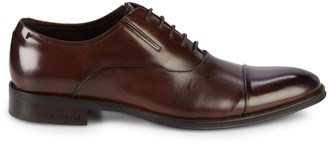Kenneth Cole New York Design Leather Oxfords