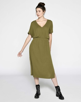 Lee Cooper Women's Rib Casual Dress