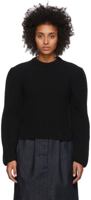 Lemaire Black Puffy Sleeves Sweater