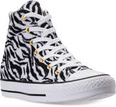 Converse Chuck Taylor High-Top Animal Print Casual Sneakers from Finish Line