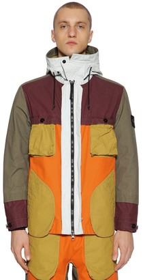 Stone Island COATED COTTON FIELD JACKET