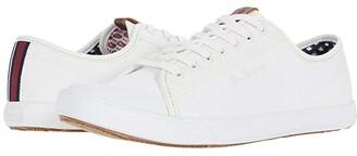 Ben Sherman Eddie Script Lace (Off-White Cotton) Men's Shoes