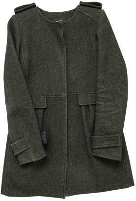 Isabel Marant Anthracite Wool Coat for Women