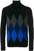 Ballantyne diamond pattern jumper - men - Cashmere - 48