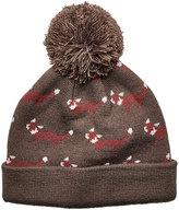 San Diego Hat Company Brown Fox Pom-Pom Beanie - Kids