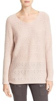 Joie Women's Tayte Wool & Cashmere Pointelle Sweater
