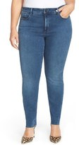 NYDJ 'Alina' Stretch Skinny Jeans (Normandy) (Plus Size)