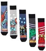Burton Burton 5 Pack Marvel Socks