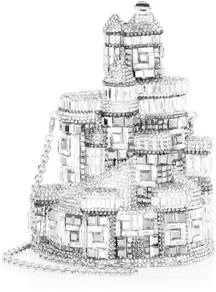 Judith Leiber Couture Castle Crystal Clutch