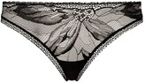 Calvin Klein Floral Lace-Front Thong