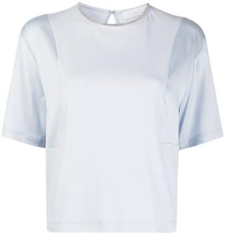 Fabiana Filippi bead-collar T-shirt