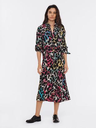 Diane von Furstenberg Lorelei Two Eco-Crepe Shirt