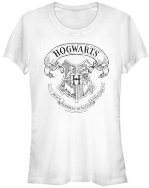 Fifth Sun Harry Potter Hogwarts School Crest Women's Short Sleeve T-Shirt