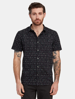 John Varvatos Jasper Short Sleeve Sport Shirt