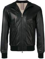 Orciani zipped biker jacket