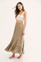 Free People Fp One FP One Cypress Ruffle Skirt by FP One at Free People, Sage, XS