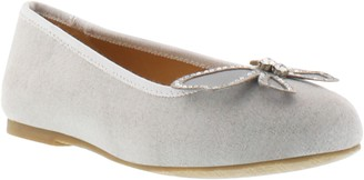 Badgley Mischka Collection Amber Wings Ballet Flat