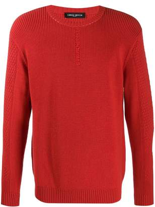 Frankie Morello crew-neck knit jumper