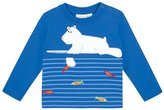 Jo-Jo JoJo Maman Bebe Polar Bear Top (Baby) - Blue-6-12 Months