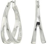 Robert Lee Morris Cut Out Hoop Earrings