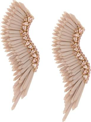 Mignonne Gavigan Mega Madeline wing earrings