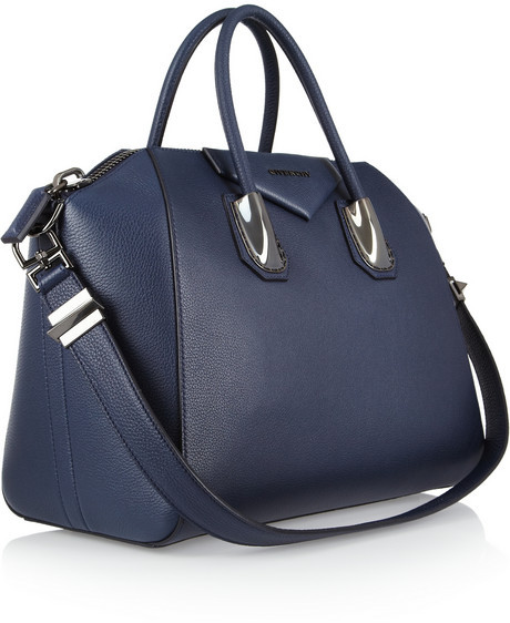 Givenchy Medium Antigona bag in navy leather