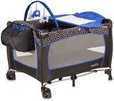 Evenflo Hayden Dot Portable BabySuite® Deluxe Playard in Blue/Black